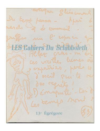 Les Cahiers du Schibboleth n°13