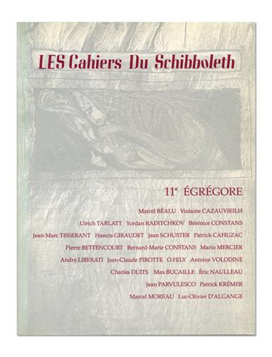 Les Cahiers du Schibboleth n°11