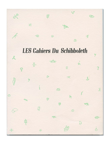 Les Cahiers du Schibboleth n°14