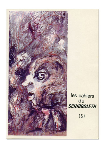 Les Cahiers du Schibboleth n°5