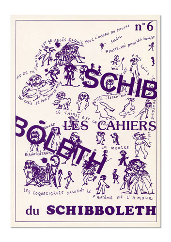 Les Cahiers du Schibboleth n°6
