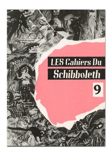 Les Cahiers du Schibboleth n°9